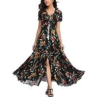 V fashion Women's 50s Retro Cap Sleeve Party Swing Dress Sleeveless Vintage Tea Dresses