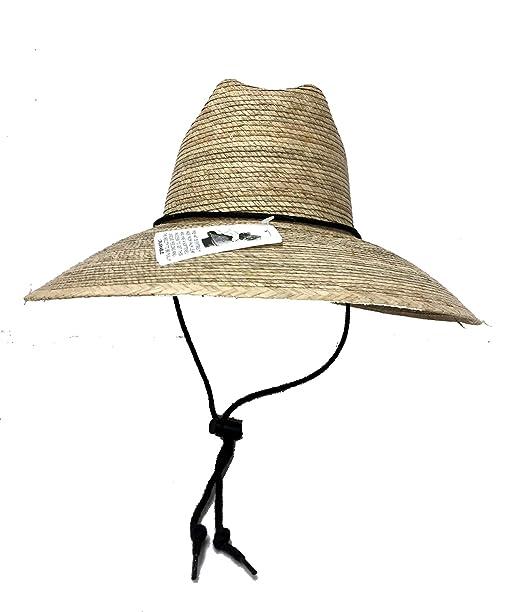 201401458 Amazon.com: 26323 Lifeguard Hat Crushable Palm Straw: Clothing