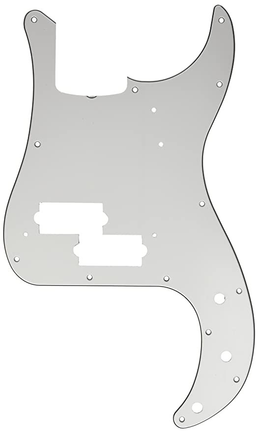 Amazon.com: Fender Vintage-Style Pickguard, 60\'s Precision Bass, 13 ...