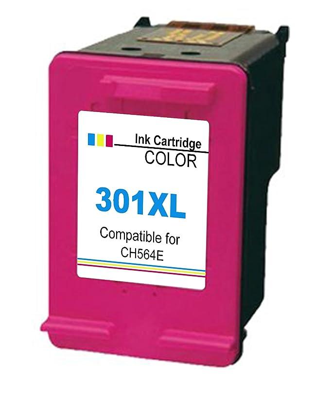 Ink Seller 3 Pack Compatible HP 301 XL 301 XL Cartuchos de Tinta (2 negro + 1 Tri-Colore) para HP y