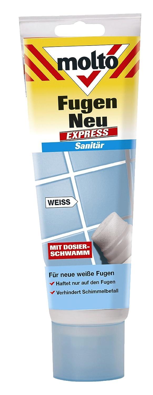 Molto Fugen Neu Express, weiss, 220 ml: Amazon.de: Baumarkt