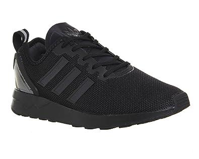 buy online be3a8 7e263 adidas Originals Unisex Adults  Zx Flux Adv Low-Top Sneakers, Black Schwarz,
