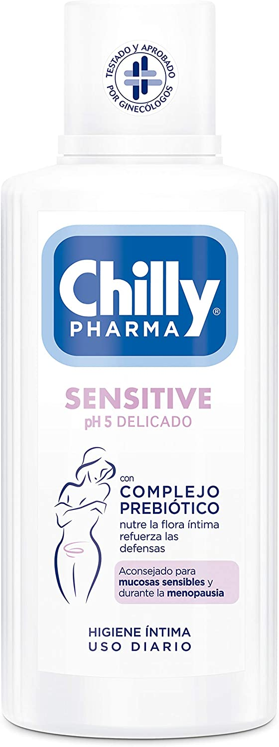 Chilly Pharma Gel De Higiene Íntima Sensitive 450 ml (4600)