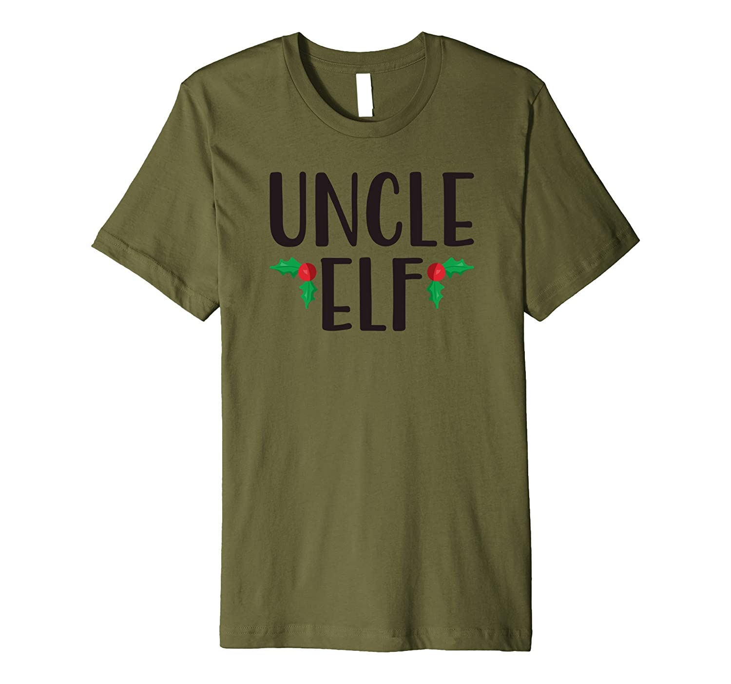 ffad3c76 Mens Uncle Elf Shirt - Cute Funny Family Christmas Elf T Shirt-ANZ ...