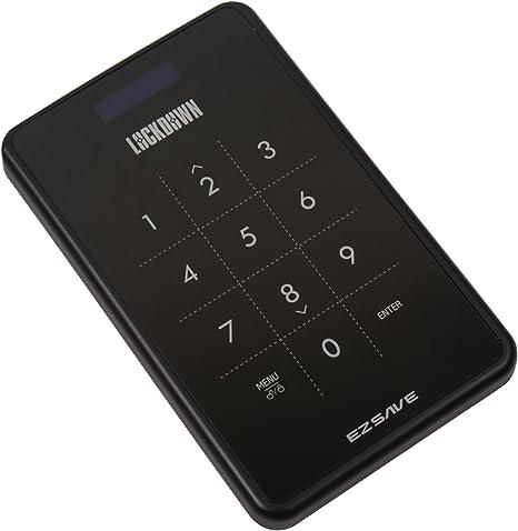 Ezsave - Carcasa para Discos Duros SATA con Sistema de encriptado ...