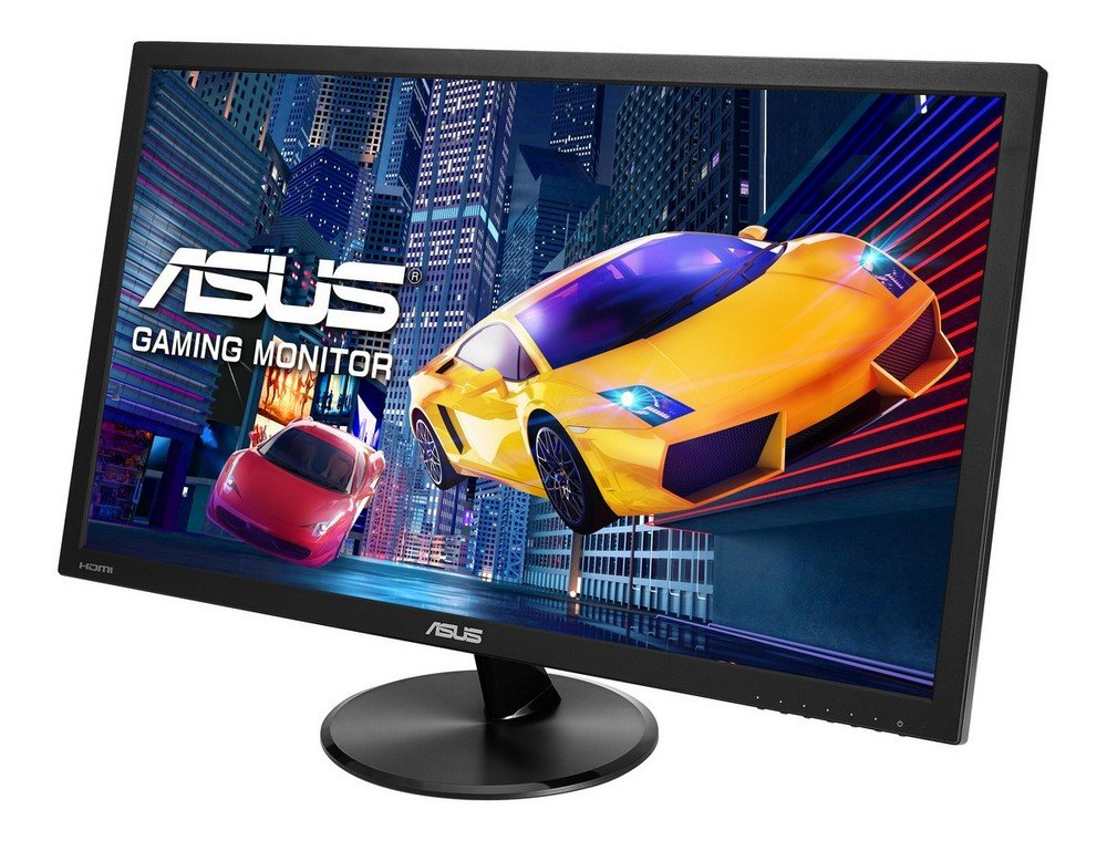 ASUS VP278H, 27 Inch FHD (1920 x 1080) Gaming Monitor, 1 ms, HDMI, D-Sub,  Low Blue Light, Flicker Free, TUV Certified