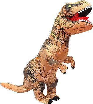 T Rex Disfraz Dinosaurio Inflable Adulto T-rex Trex Disfraces Para ...