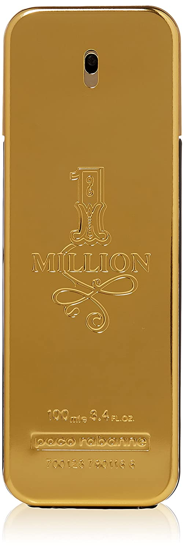 Paco Rabanne 1 Million for Men Eau de Toilette Spray, 3.4 Ounce