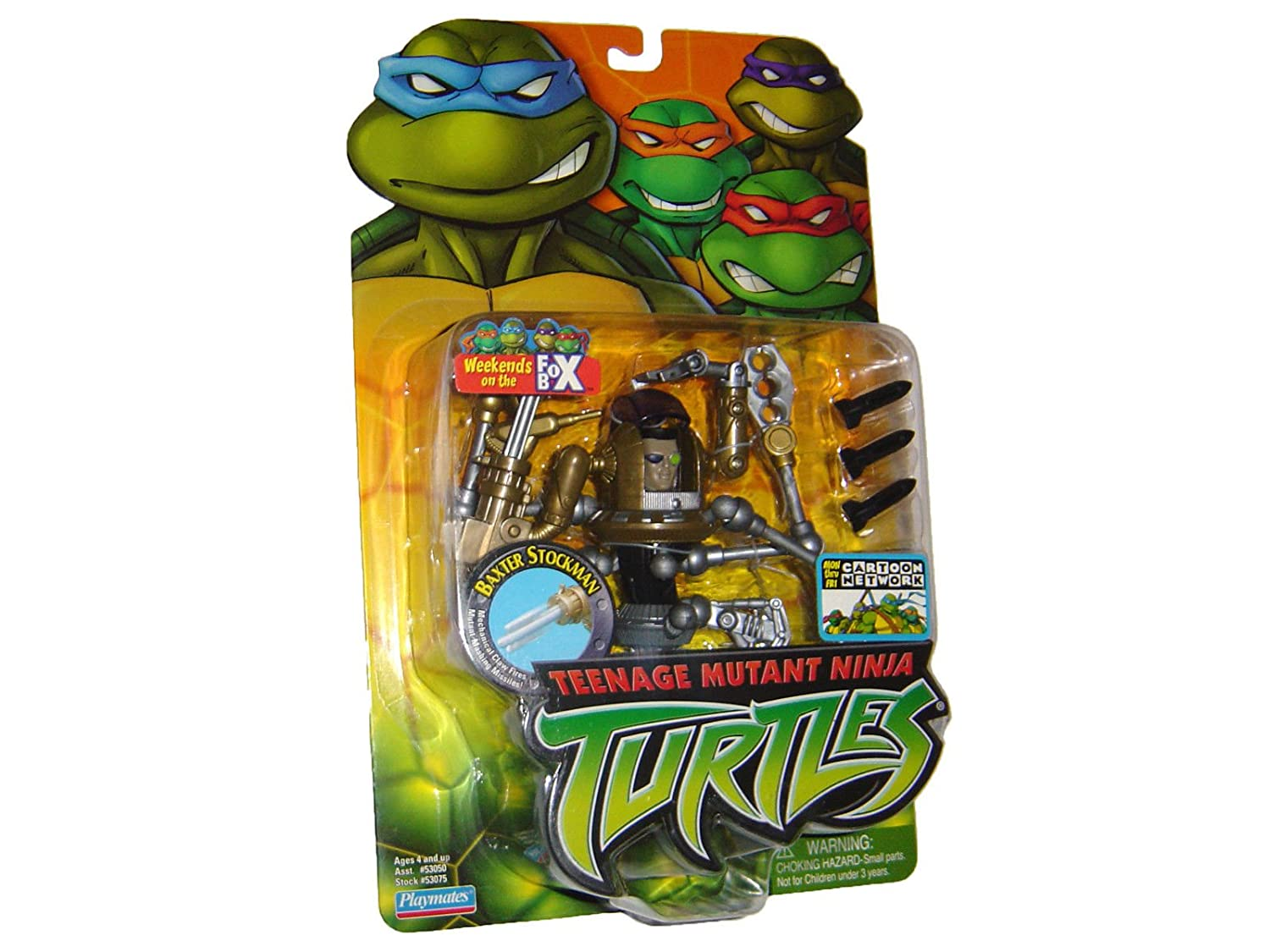 Teenage Mutant Ninja Turtles Baxter Stockman Playmates