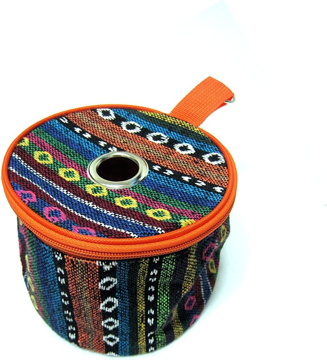 Isle Pattern Toilet Roll Case Paper Holder Hanger Tent Camping Outdoor Tool