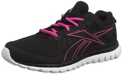 Reebok Sublite Escape MT, Chaussures de Running Femme - Rose (Charged Pink/Gravel/Black/White), 38 EU