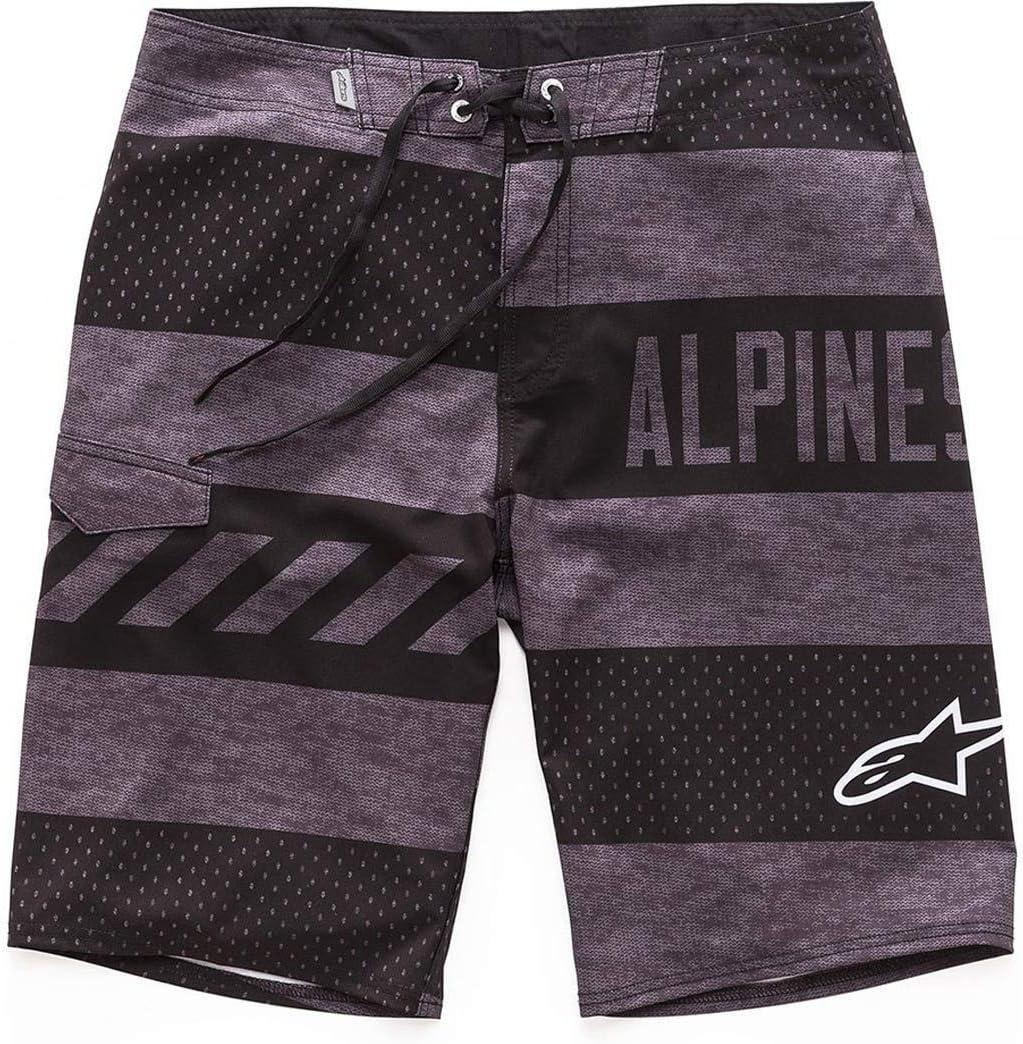 Charcoal, Size 28 Alpinestars Unisex-Adult Insignia Boardshorts