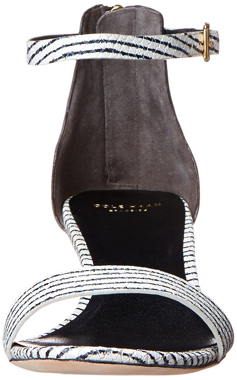 Cole B(M) Haan Women's Rossi Wedge Sandal B00OQU5E74 9.5 B(M) Cole US|Black/Optic White Snake Print ceecc3