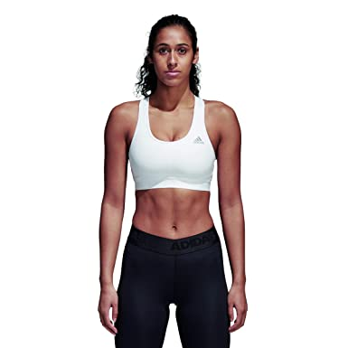 newest e9301 189bc Adidas Women Sport Bra Training Dont Rest Alphaskin Training Yoga CE0787  Gym at Amazon Womens Clothing store