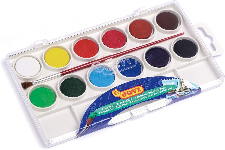 Jovi-724987 Estuche Acuarelas, Multicolor (800 12) , color/modelo surtido: Amazon.es: Juguetes y juegos
