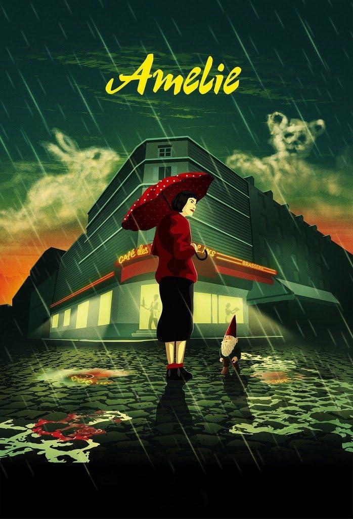 Vgpd Amelie 2001 Le Fabuleux Destin D Amzlie Poulain Movie Poster Amazon Co Uk Kitchen Home