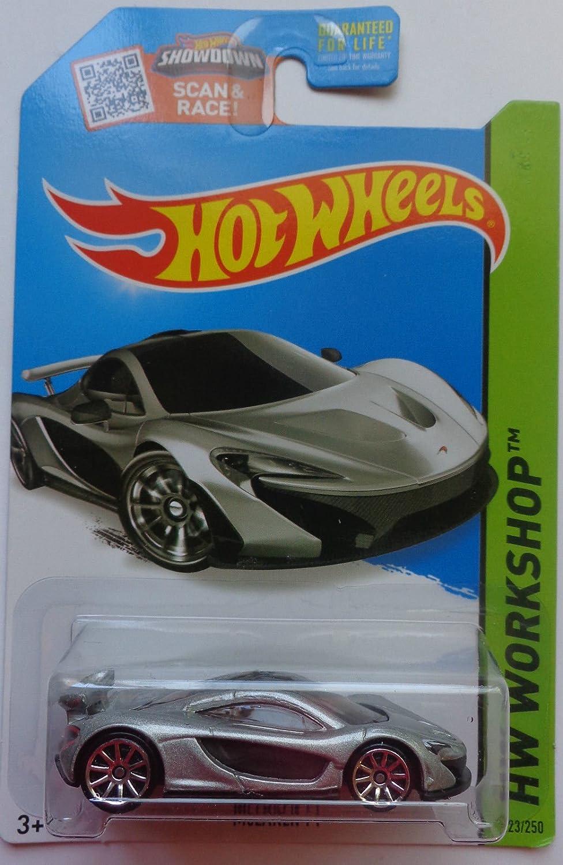 2015 Hot Wheels Hw Workshop Mclaren P1 Silver Toys Mc Laren Games