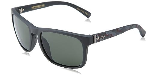 Amazon.com: VonZipper Lomax Wayfarer - Gafas de sol, negro ...