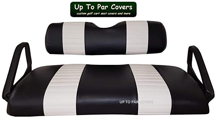 Amazon.com: **IN STOCK BLACK / WHITE - READY TO SHIP** E-Z-Go TXT 2 on ez go logo drawing, ez go seat covers, ez go rear seats, ez golf cart colors, ez go txt, ez go winter cover, ez go marathon, ez go custom carts, ez go models by year, ez go cart accessories, ez go lift kit, ez go seat back design, go cart replacement seats, used ez go back seats, ez go rxv 2010, ez golf cart seat covers,