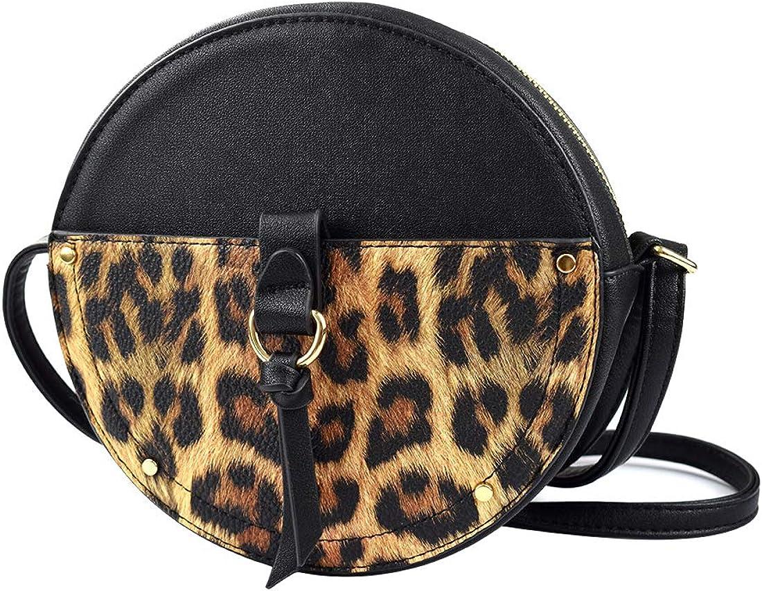 Women Bag Small Shoulder Chain Pattern PU Cloth Crossbody Buckle Handbags