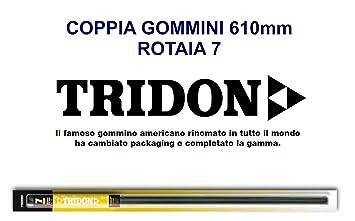 Par Recambio Escobillas Limpiaparabrisas Refill Tridon 610 Rail 7 ...