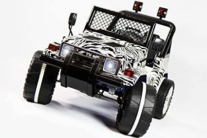 Amazon Com Jeep Wrangler Style 12v Power Ride On Toy Car With