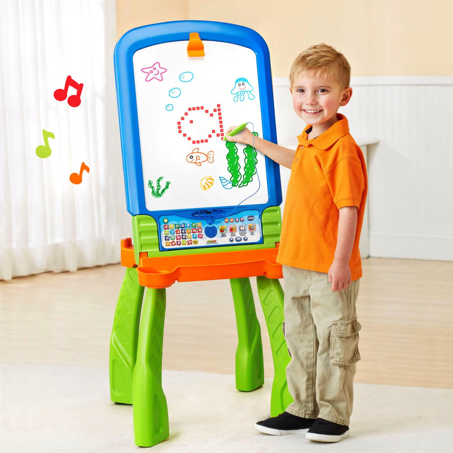 VTech DigiArt Creative Easel (Frustration Free Packaging) by VTech (Image #2)