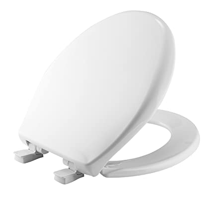 Cool Mayfair Toilet Seat Will Slow Close And Never Come Loose Round Long Lasting Plastic White 20Slowe Gmtry Best Dining Table And Chair Ideas Images Gmtryco