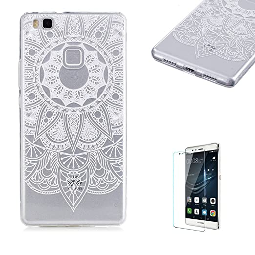 4 opinioni per Cover Huawei P9 Lite,Funyye Trasparente Silicone Morbido Sottile Chiaro Leggero