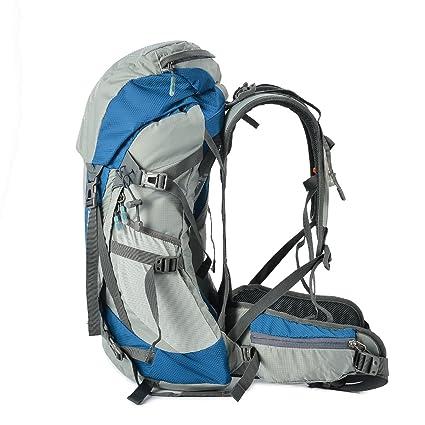 Amazon.com : Tofine Waterproof External Frame Hiking Pack Travel Bag ...