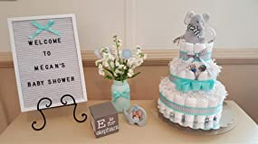 Perfect size for the diaper cake
