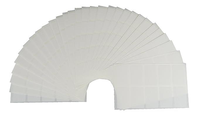 500étiquettes de congélation de couleur O. Blanc & # x273F; justrean & # x273F; tiefkühl Étiquettes de congélation TK autocollants Budget Cuisine 250 bu