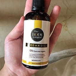The Body Source - Puro Aceite de Argán 100% Orgánico, Rico en ...