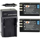 DSTE® アクセサリーキット Nikon EN-EL9 EN-EL9A 互換 カメラ バッテリー 2個+充電器キット対応機種 D40 D40X D60 D3000 D5000