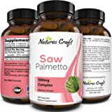 Saw Palmetto Capsules for Hair Loss - Saw Palmetto for Women and Men Hair Vitamins for Faster Hair Growth and Healthy…