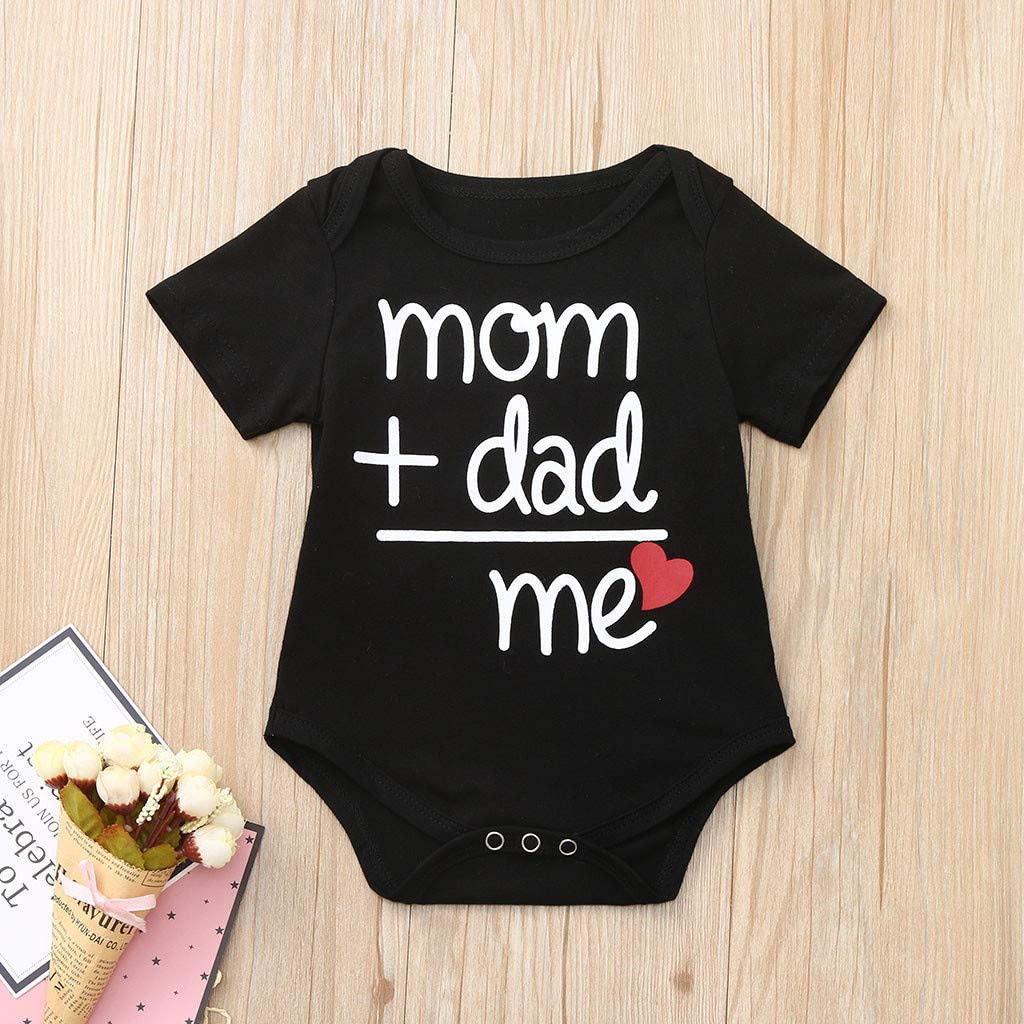 HappyLifea Fuck It Baby Pajamas Bodysuits Clothes Onesies Jumpsuits Outfits Black