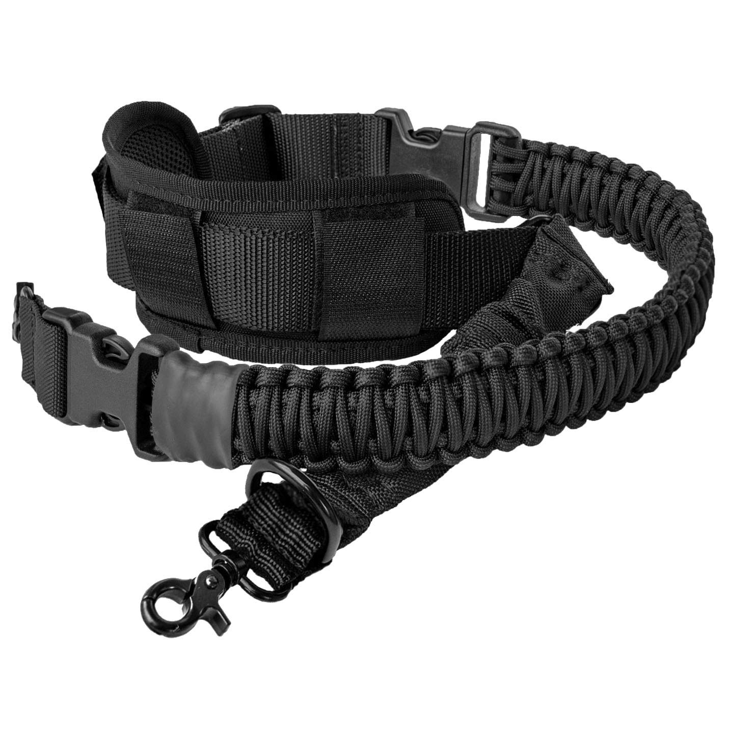 550 Paracord Gun Sling 2 Point Rifle Sling Multi Use Two Point Sling Adjustable Rifle Strap