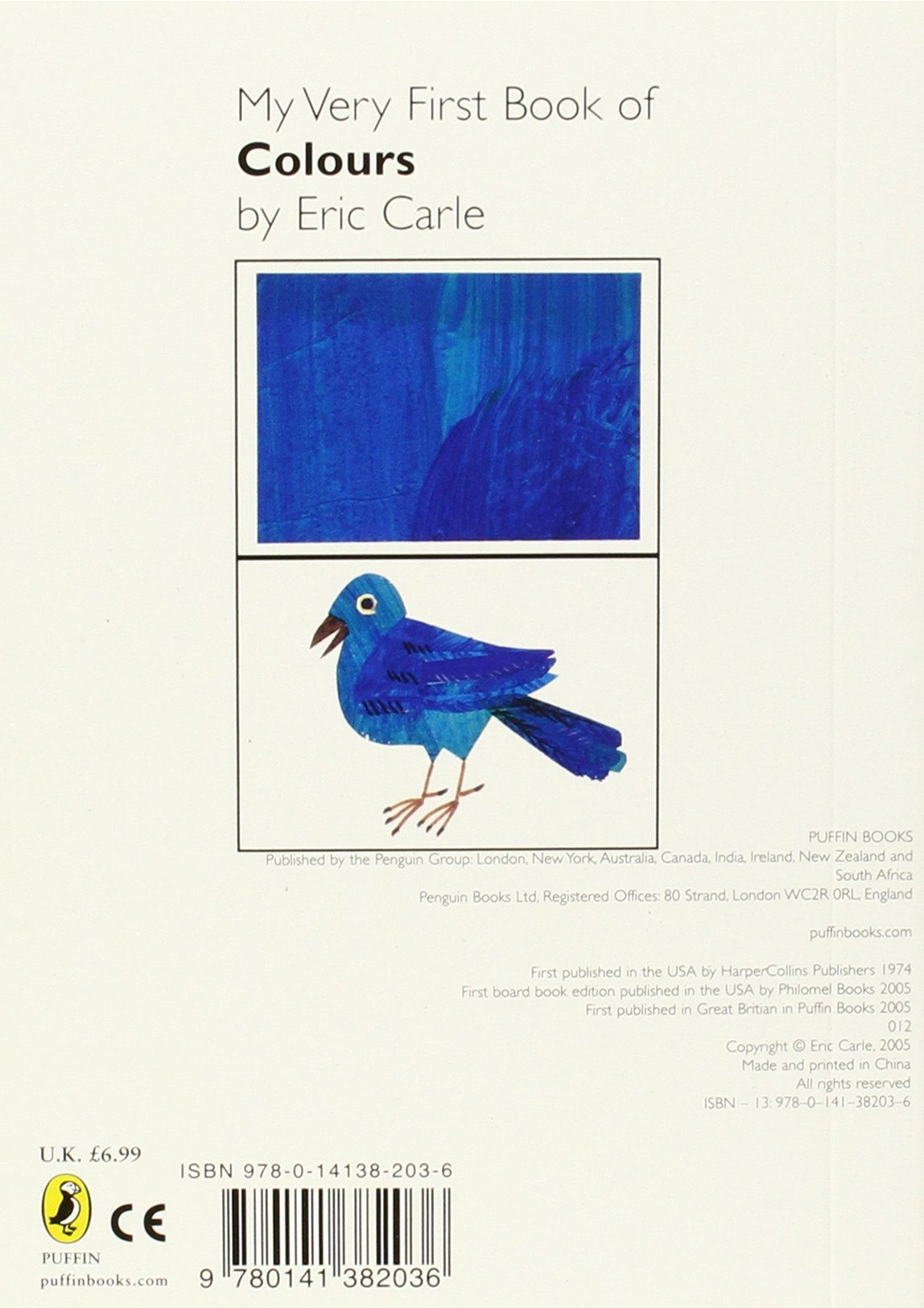 My Very First Book of Colours: Eric Carle: 9780141382036: Amazon.com ...
