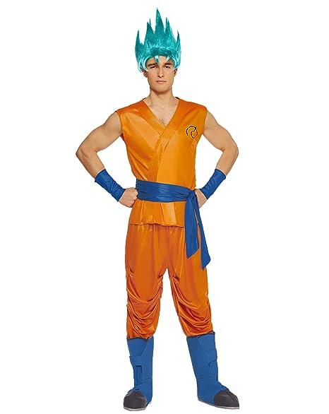 Amazon.com: Espíritu de Halloween adulto disfraz de Goku ...