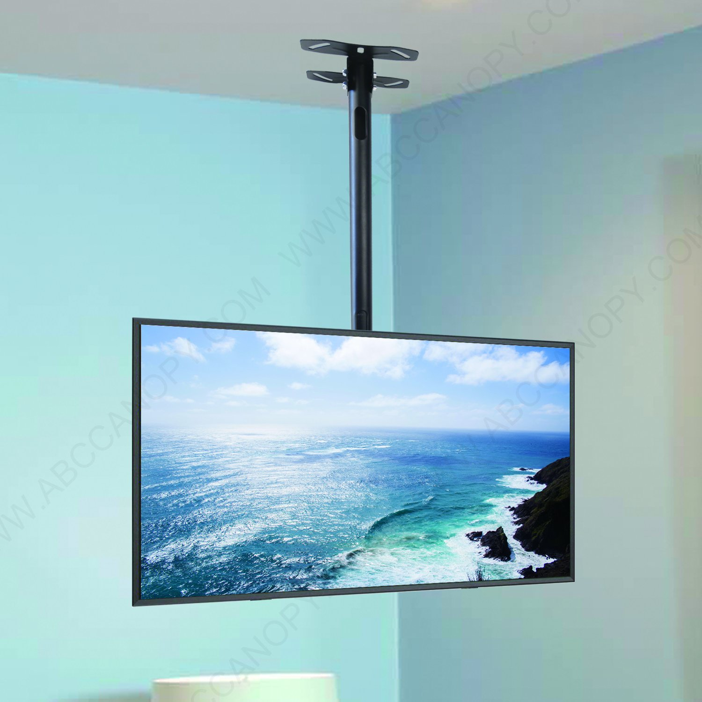 ABCCANOPY LCD Plasma Flat Panel TV Ceiling Mount Bracket for Most 32''-65'' Plasma TV Flat Panel Displays 150 LBS Loading Capacity (Ceiling TV Mount Bracket) by ABCCANOPY (Image #4)