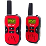 Kids Walkie Talkies, 22 Channels Easy to use with Long Range (up to 6KM/3.7 miles in open areas) Two-Way wakie-talkies for kids (Pair)