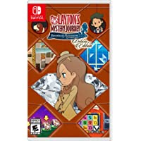 Layton's Mystery Journey: Katrielle and the Millionaires' Conspiracy Deluxe Edition for Nintendo Switch by Nintendo