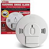 Kidde 21028502 AC/DC Wire-in Smoke Alarm Detector with TruSense Technology | Front Load Battery Backup | Voice…