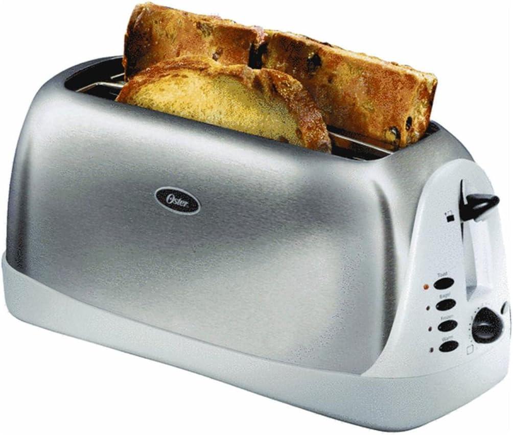 Oster Inspire 4-Slice Long Slot Stainless Steel Toaster
