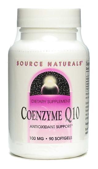 Amazon.com: Coenzima Q10 100 mg – Source Naturals, Inc. – 90 ...