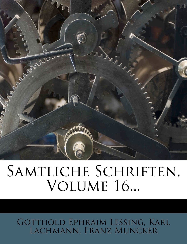 Download Samtliche Schriften, Volume 16... pdf