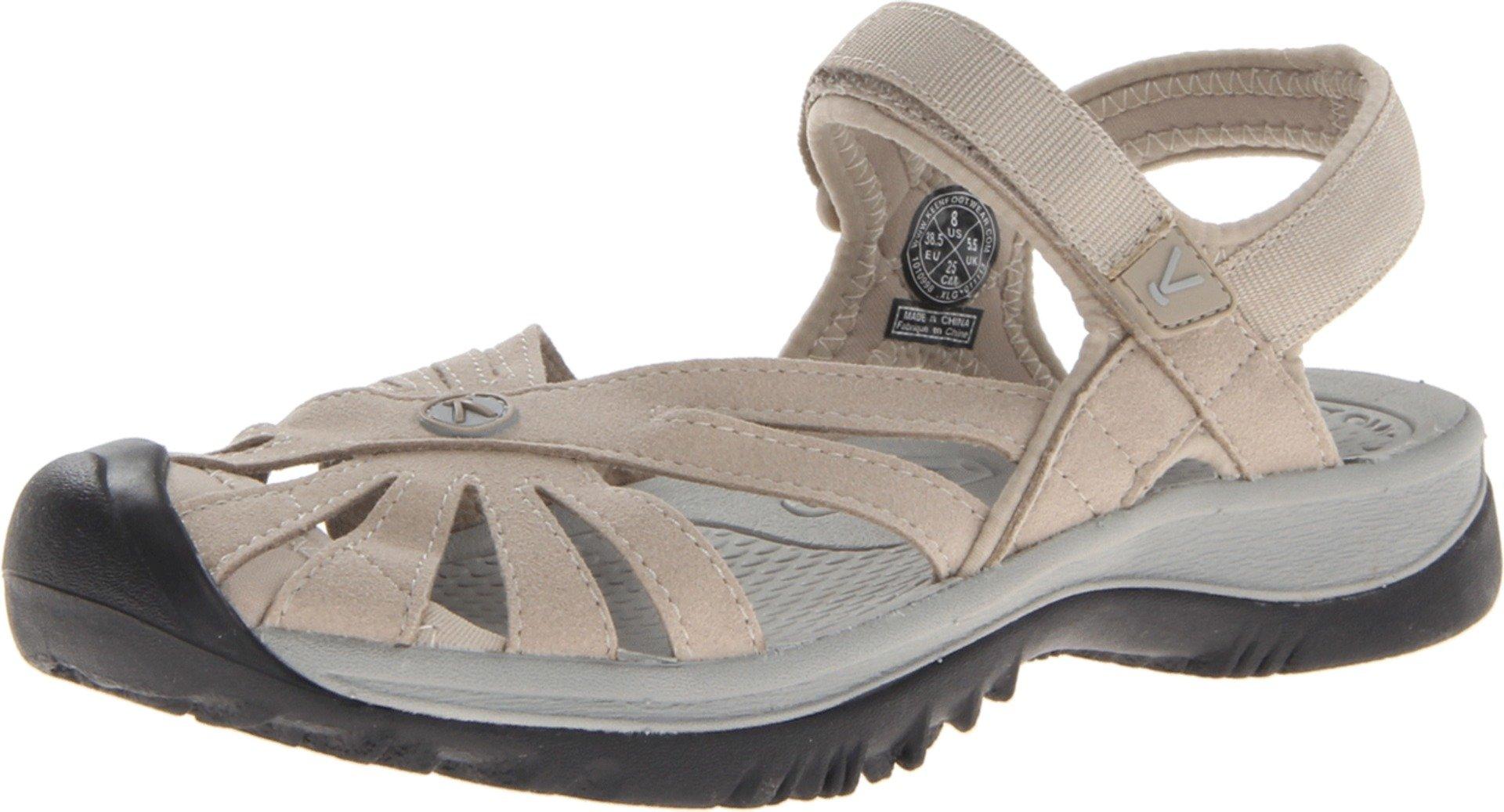 KEEN Women's Rose Sandal,Aluminium/Neutral Gray,8 M US