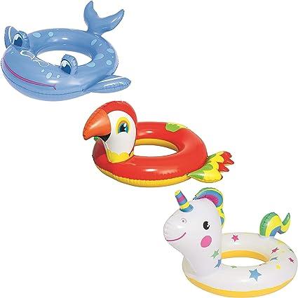 Bestway 36128 - Flotador Hinchable Infantil Animales 79/84 cm