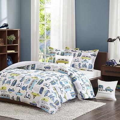 INK+IVY Kids IIK10-009 Comforter (Set), Full/Queen, Multi: Home & Kitchen