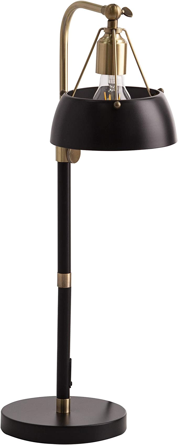 Amazon Com Sei Furniture Renmarco Table Lamp Black Antique Brass Home Improvement